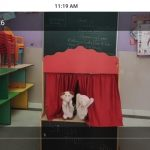 Puppet show and creative work …
